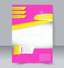 Editable Brochure Template Flyer Design With Modern Dark Background