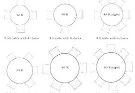 round table seats 6 5 foot round table seating 6 tables ft size for seats