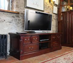 Mahogany Living Room Furniture La Roque Mahogany Widescreen Television Cabinet Imr09a