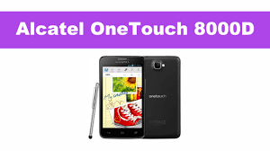 Alcatel OneTouch Scribe Easy 8000D - YouTube