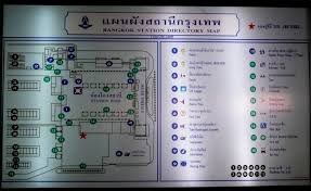 hualamphong railway station floor plan of bangkok train station