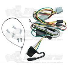 tow ready t one connector way flat wiring harness kit trailer tow ready t one connector 4 way flat wiring harness kit