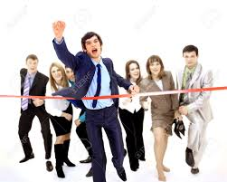 Image result for pictures of people crossing the finish line
