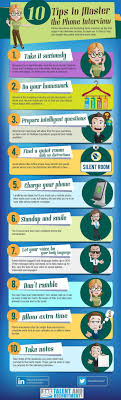 how to ace your phone interview infographic