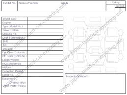 inspection sheet bay auc inspection sheet example support services car from japan