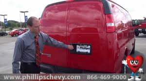 Phillips Chevrolet - 2014 Chevy Express Cargo Van - Walkaround ...