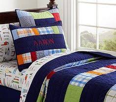 Circo® Rugby Stripe Quilt Set - Blue/Green (Quilt/Sham only ... & Circo® Rugby Stripe Quilt Set - Blue/Green (Quilt/Sham only ~ $69.99) | New  Bedroom for Boys | Pinterest | Striped quilt and Blue green Adamdwight.com