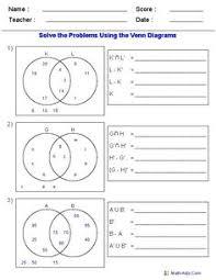Venn Diagram Sets Worksheet 64 Best Venn Diagrams Images Venn Diagrams Entertaining Hilarious