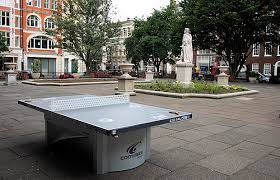 free tennis tables appear in london public parks thanks to ping