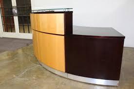 used reception desk custom built
