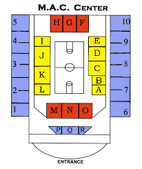 Memorial Athletic And Convocation Center Seating Chart