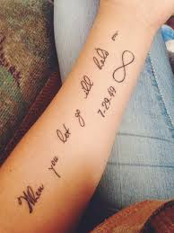 Love Quote Tattoos New 48 Relatable Love Quote Tattoos TattooBlend