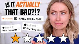 funniest bad reviews of 1 star rated makeup full day wear test