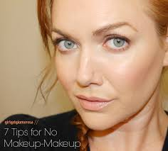7 tips for doing the no makeup natural makeup look