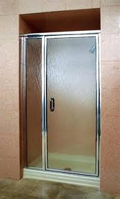water repellent for glass shower doors framed door and panel in polished chrome obscure rain x