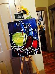Wine And Design Stafford Wine Tasting Paint Sip Party Sample Painting On Canvas
