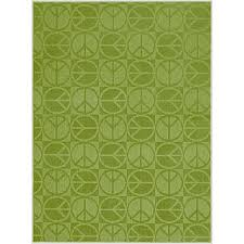 ikea grass rug idea emerald green neon area