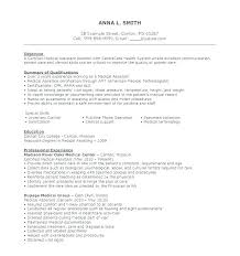 Resume Template For Medical Assistant – Resume Sample Source