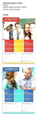 Education Brochure Templates School Brochures Design School Brochure Template School