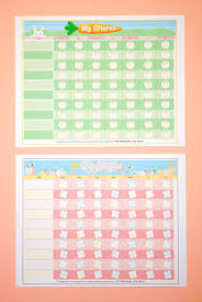 Free Printable Chore Chart For 4 Year Old Free Printable Chore Chart For Kids Happiness Is Homemade
