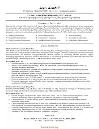 Good Business Management Resume Keywords Business Operation Manager