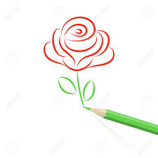 Small Picture Rose Drawing Images Stock Pictures Royalty Free Rose Drawing