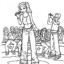 Small Picture SINGER coloring pages 4 free coloring pages people and their