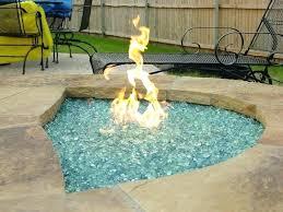 glass propane fire pit propane fire pit kit black fire glass gas fire pit kit outdoor