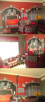 Fire Station Themed Baby Nursery Shared By Lion So So Cute I