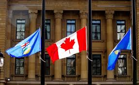 Image result for Canadian flag at half mast picture