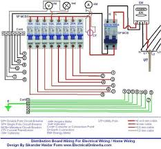 best 25 distribution board ideas on pinterest electric Ryefield Board Wiring Diagram wiring of distribution board wiring diagram with dp mcb and sp mcbs Ryefield Primary School