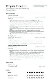 Apartment Rental Agent Sample Resume Interesting Leasing Consultant Resume Example Leasing Manager Resume If You