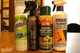 best waterproofing sprays for shoe protection and more