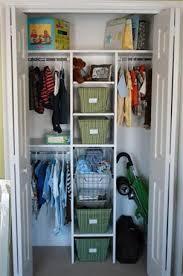 Baby Nursery Closet Organization System