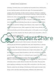 international marketing essay example topics and well written  international marketing essay example text preview