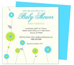 Free Microsoft Word Invitation Templates New Baby Shower Invitations Templates Publigrafco