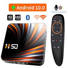 <b>TV box Android</b> 10 T98mini 2GB 16GB 2.4/5G Dual WIFI BT 4,2 ...