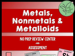 Metals, Nonmetals, and Metalloids Review Center and Assessment by ...