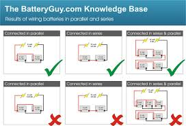 Connecting Batteries In Series Batteryguy Com Knowledge Base