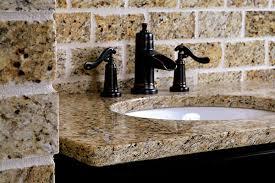 orlando granite vanity with eased edge and undermount sink by adp surfaces in orlando florida orlando granite countertops