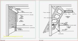 image result for sectional overhead garage door drawing
