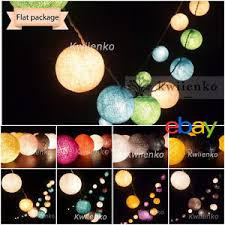 ball fairy lights. image is loading 20-cotton-ball-string-lights-fairy-hanging-wedding- ball fairy lights 2