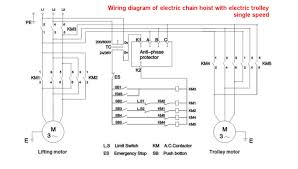 similiar hoist two controls wiring diagram keywords hoist crane the hoist electric trolley buy electric chain hoist