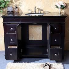 Legion Bathroom Vanity Legion Furniture 48 Single Bathroom Vanity Set Reviews Wayfair