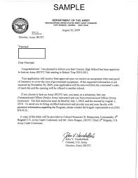 jrotc activation letter th bde jrotc supply 3 jrotc activation letter