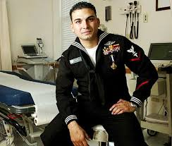Combat Corpsman Navy Corpsman Ran Through A Wall Of Fire To Save His Marines