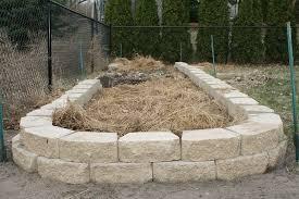 stone garden bed