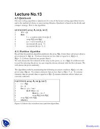 Quick Sort In Design And Analysis Of Algorithms Partition Algorithm Quicksort Design And Analysis Study