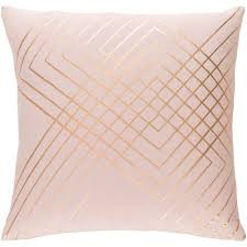 blush colored pillows.  Colored Monroe Blush And Gold 20 In Throw Pillow With Colored Pillows O