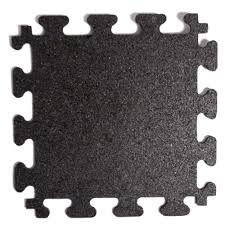 fanmats titan tile black 18 in x 18 in rubber tile flooring 6